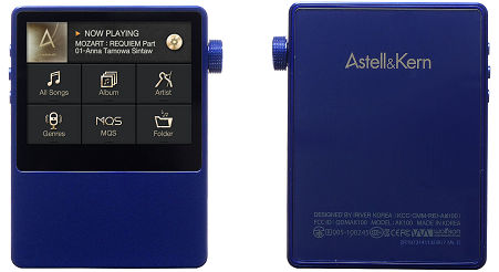 iriver Astell&Kern AK100MKII LTDサファイアブルー01