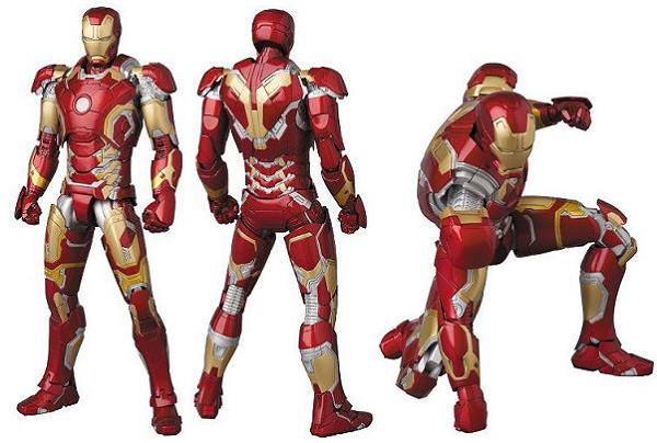 MAFEX No.013 IRON MAN MARK43