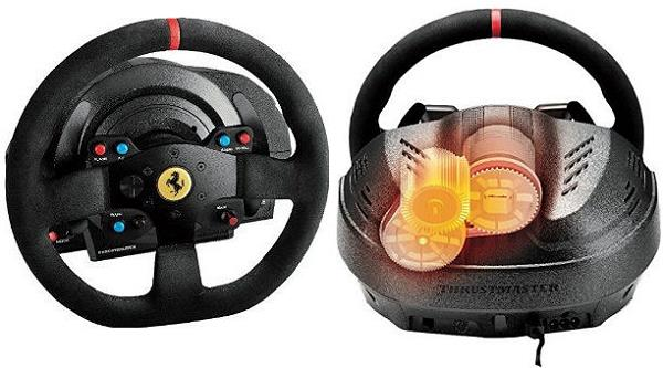 MSY T300 Ferrari Integral Racing Wheel Alcantara Edition for PlayStation 4/PlayStation 3 4160660