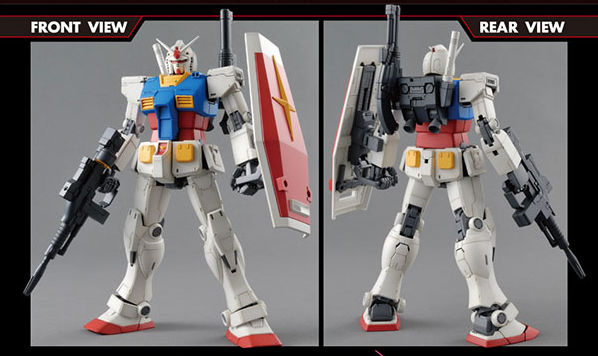 MG 1/100 RX-78-2 ガンダム(GUNDAM THE ORIGIN)