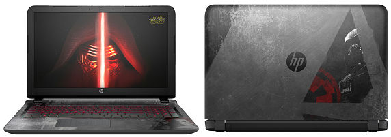 HP Star Wars Special Edition Notebook T0Z05PA#ABJ