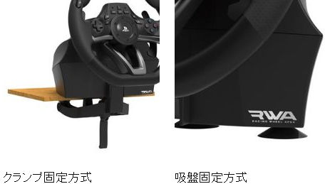 HORI Racing Wheel Apex for PS4 PS3 PC PS4-052