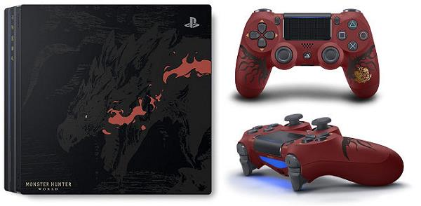 ソニー PlayStation 4 Pro MONSTER HUNTER: WORLD LIOLAEUS EDITION CUHJ-10020
