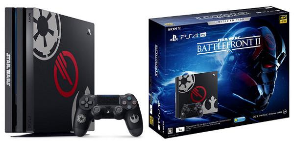 ソニー PlayStation 4 Pro Star Wars Battlefront II Limited Edition CUHJ-10019