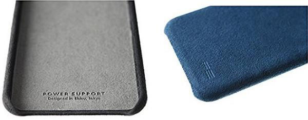 パワーサポート Ultrasuede Air Jacket for iPhone X PGK-80/PGK-81/PGK-82/PGK-83/PGK-84