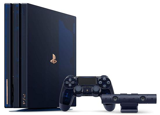 ソニー PlayStation 4 Pro 500 Million Limited Edition CUH-7100BA50