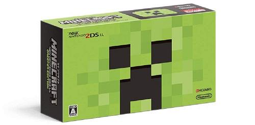任天堂 MINECRAFT Newニンテンドー2DS LL CREEPER EDITION JAN-S-MBDG